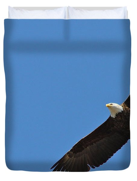 Freedom Duvet Cover by Rick  Monyahan