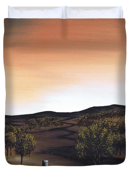 Freedom Road Duvet Cover