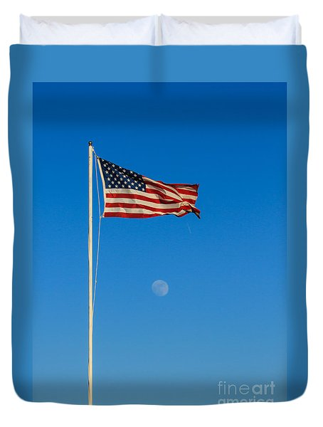 Freedom Duvet Cover by Robert Bales