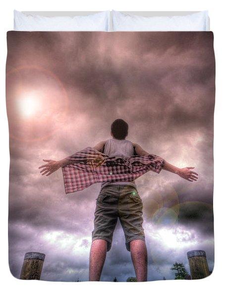 Freedom Duvet Cover by Yhun Suarez