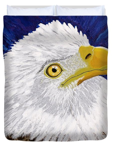 Freedom's Hope Duvet Cover by Vicki Maheu