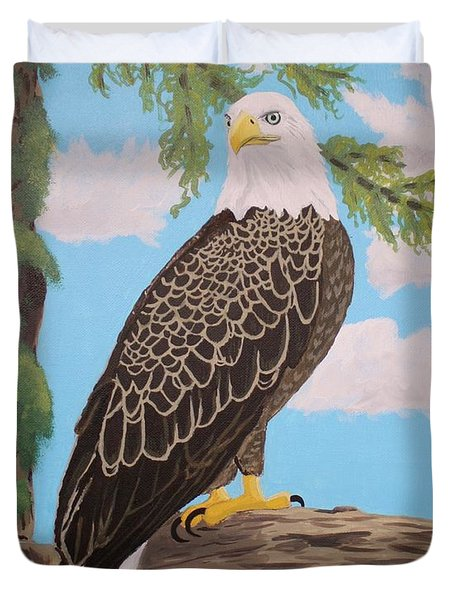 Freedom's Pride Duvet Cover by Vicki Maheu