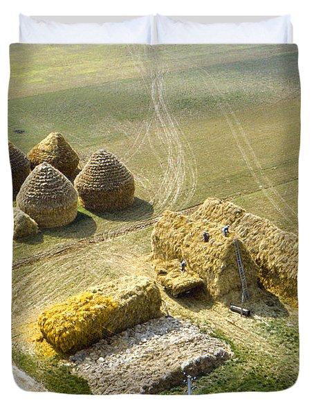 French Haystacks Duvet Cover