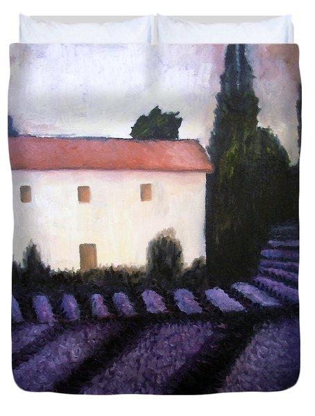 French Lavender Duvet Cover by Venus