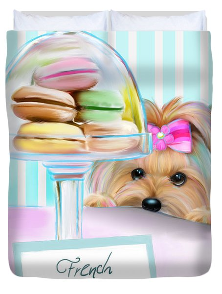 French Macarons Duvet Cover