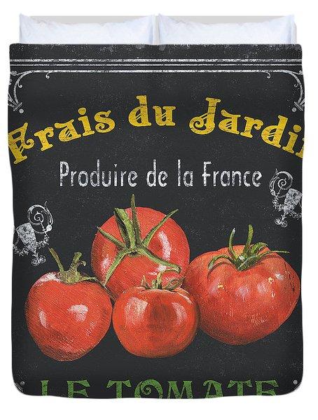 French Vegetables 1 Duvet Cover