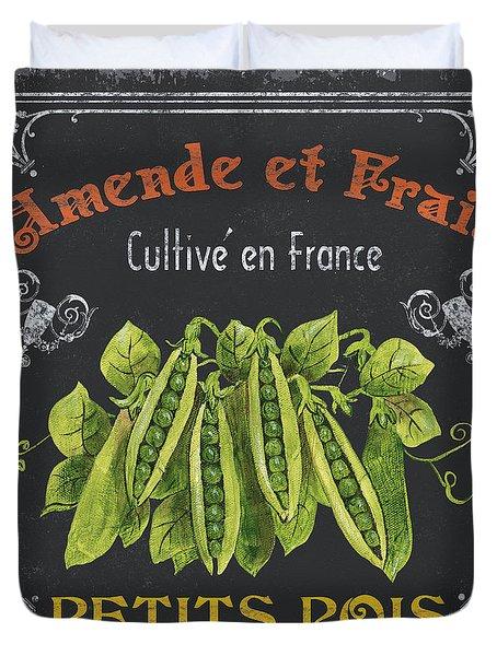 French Vegetables 2 Duvet Cover