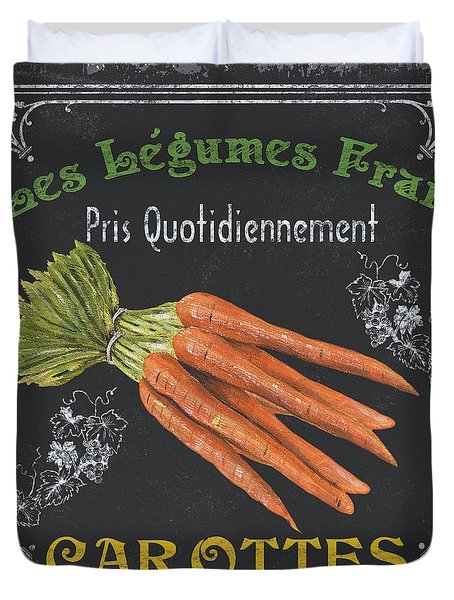 French Vegetables 4 Duvet Cover