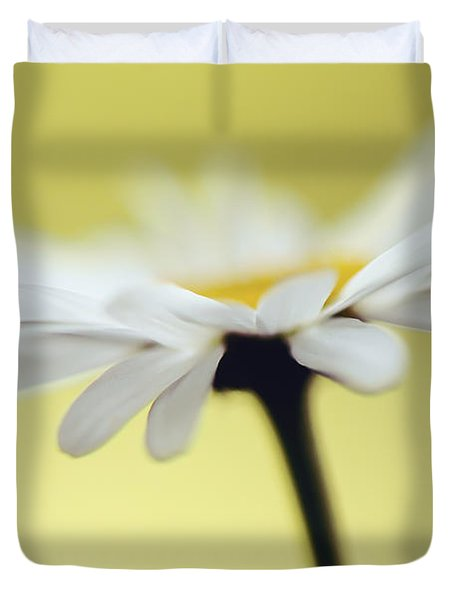 Fresh As A Daisy Duvet Cover by Lois Bryan