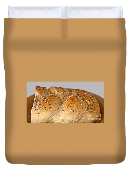 Fresh Challah Bread Art Prints Duvet Cover