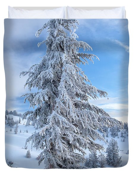 Fresh Frost Duvet Cover