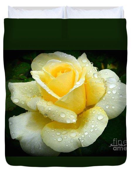 Fresh Sunshine Daydream Rose Duvet Cover