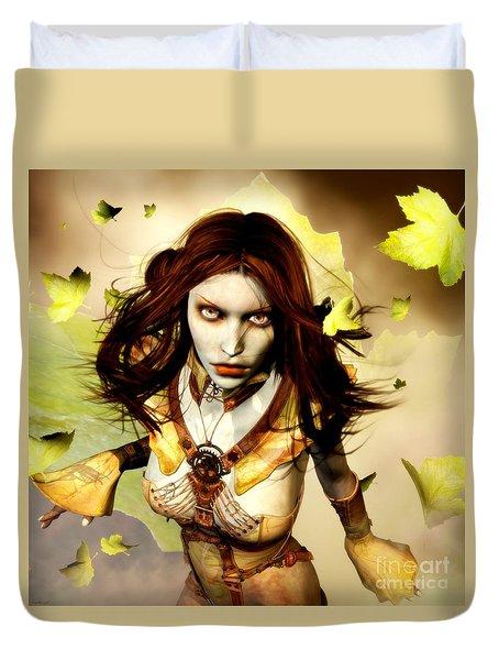 Freya Duvet Cover by Gabor Gabriel Magyar - Forgottenangel