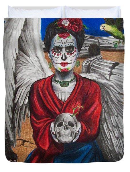 Frida Kahlo Duvet Cover by Amber Stanford