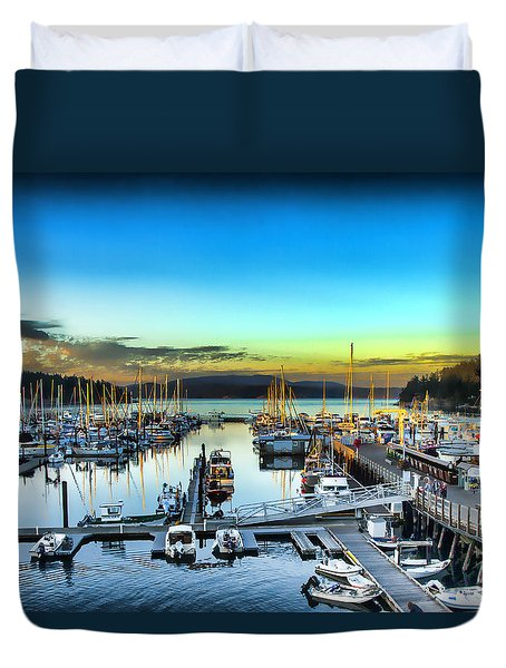 Friday Harbor Duvet Cover