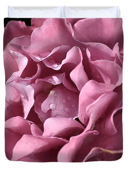 Frilly Rose Duvet Cover by Joy Watson