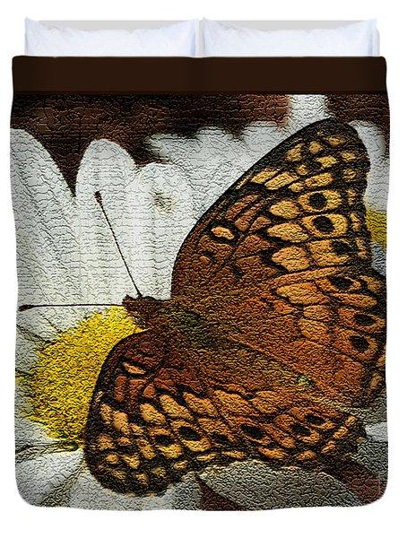 Fritillary Variegated  Duvet Cover
