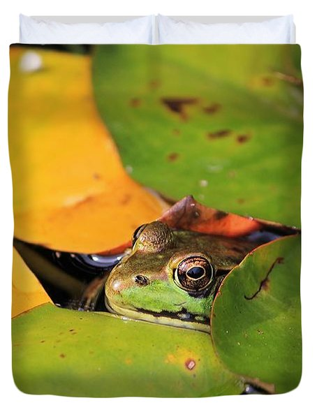 Frog Pond 3 Duvet Cover