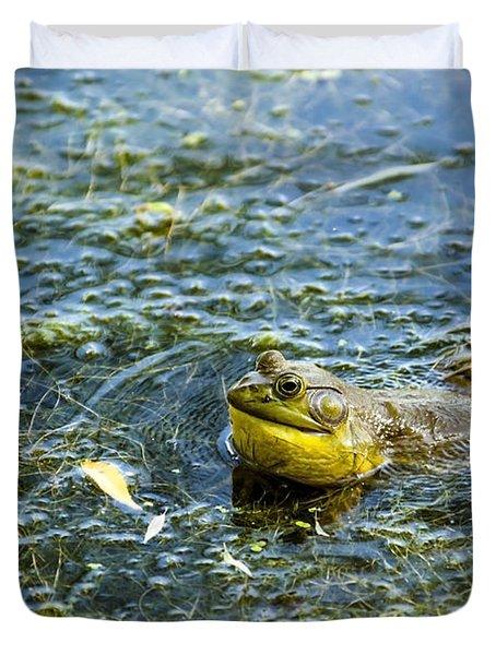 Frog Song Duvet Cover