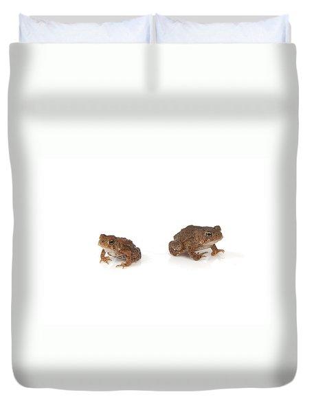 Frogs Duvet Cover