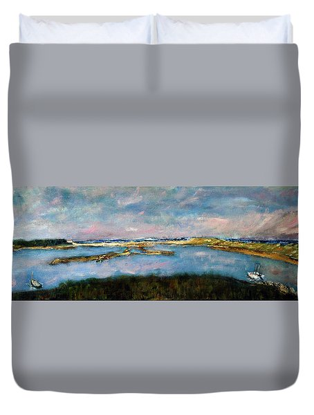 From Coast Guard Beach To Nauset Beach Duvet Cover