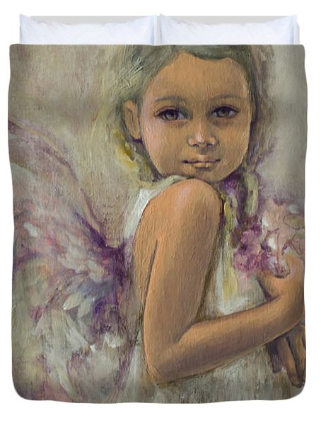 From Heaven... Duvet Cover by Dorina  Costras