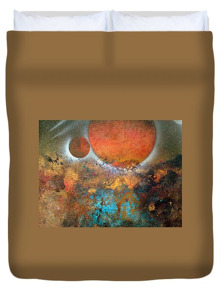 From Planet's View Duvet Cover