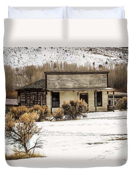 From Saloon To Store Front And Home Duvet Cover
