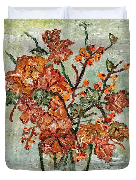 From The Garden Duvet Cover by Loredana Messina
