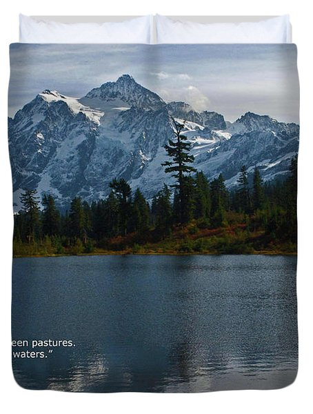 From The Hills Duvet Cover