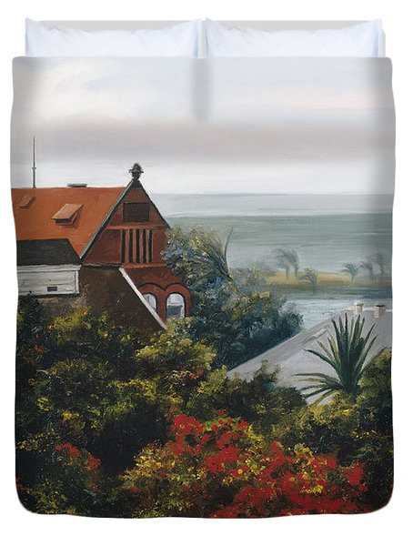From The Holiday Inn - Key West Duvet Cover