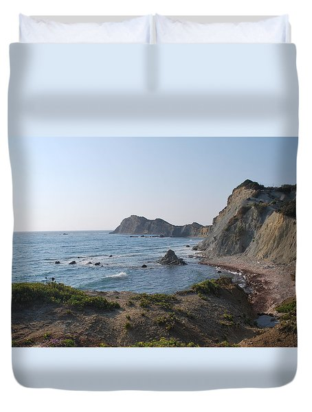 From The West Duvet Cover by George Katechis