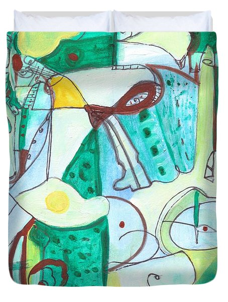 From Within #13 Duvet Cover