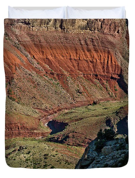 From Yaki Point 5 Grand Canyon Duvet Cover by Bob and Nadine Johnston