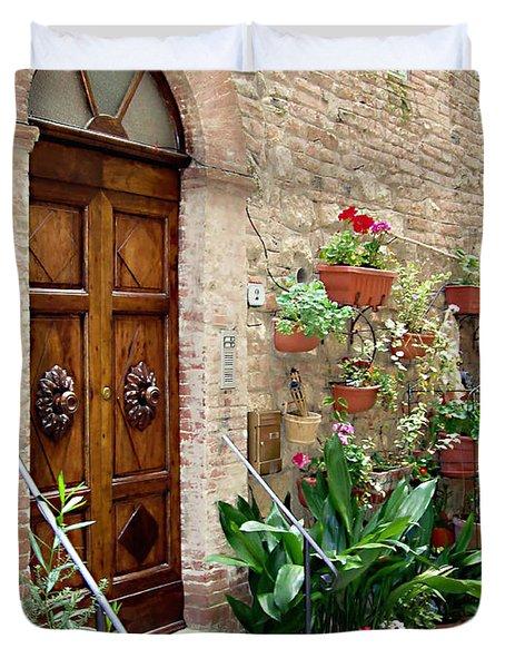 Front Door Duvet Cover