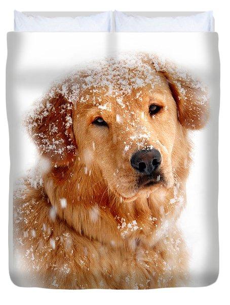 Frosty Mug Duvet Cover by Christina Rollo