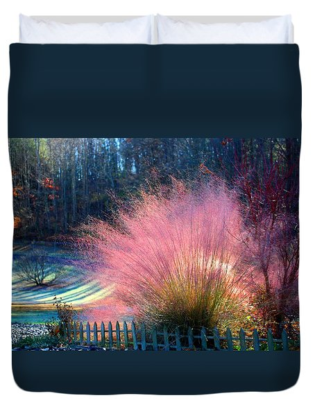 Frosty Scene Duvet Cover