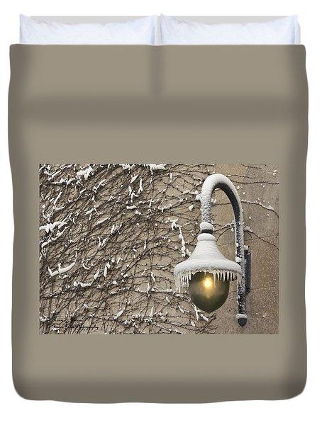 Frozen Illumination Duvet Cover
