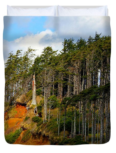 Duvet Cover featuring the photograph Frozen In Time by Jeanette C Landstrom
