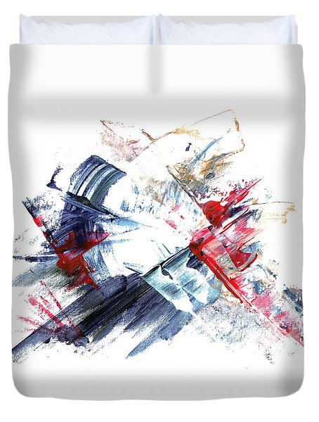 Frozen In Time / Space Duvet Cover