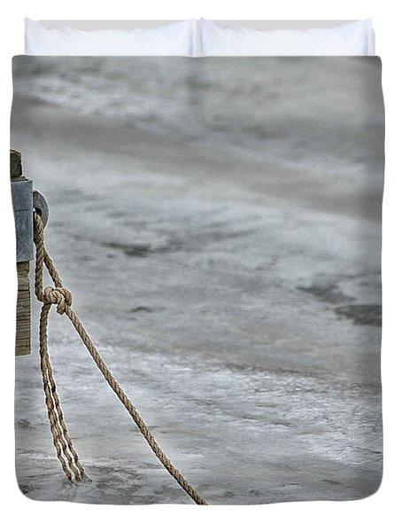 Frozen Duvet Cover by Karol Livote