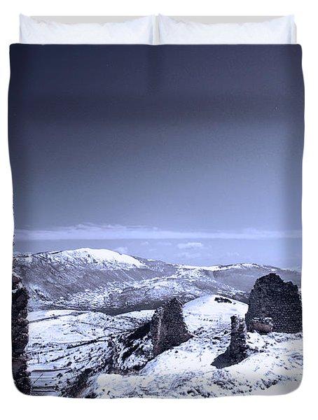 Frozen Landscape Duvet Cover
