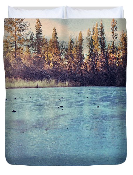 Frozen Duvet Cover by Laurie Search