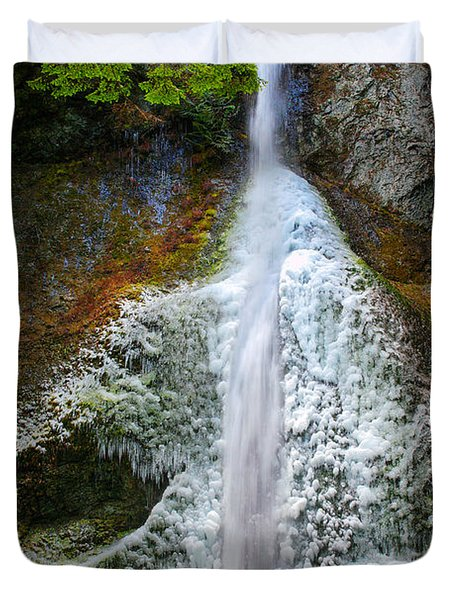 Frozen Marymere Falls Duvet Cover
