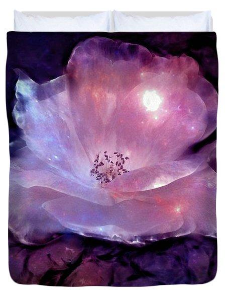 Frozen Rose Duvet Cover