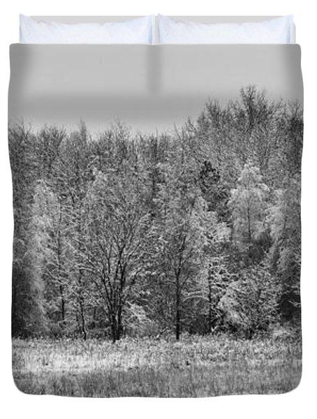 Frozen Duvet Cover by Sebastian Musial