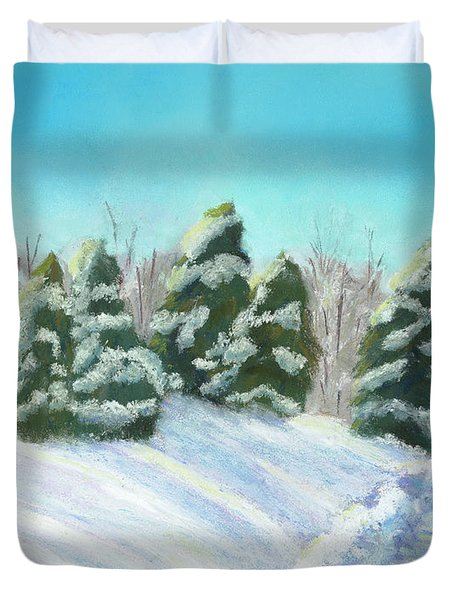 Frozen Sunshine Duvet Cover by Arlene Crafton