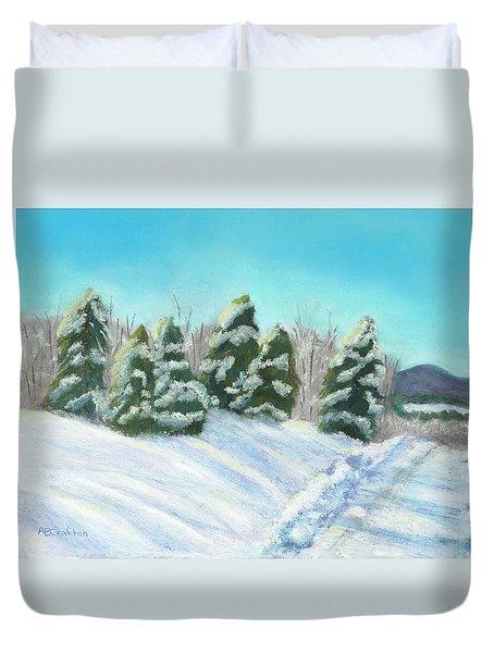 Frozen Sunshine Duvet Cover