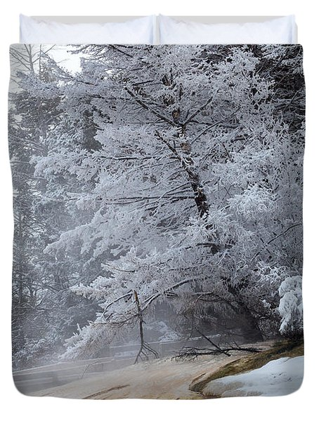 Frozen Tree Duvet Cover