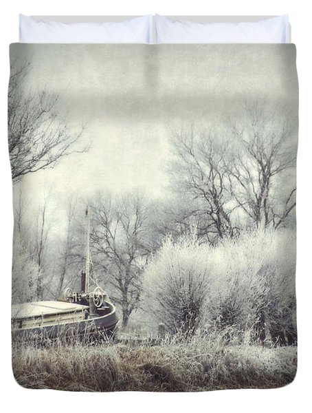 Frozen World Duvet Cover by Annie Snel